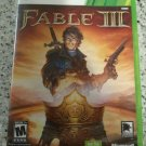 Fable III (Microsoft Xbox 360, 2010) With Manual Complete CIB Tested