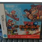Mario vs. Donkey Kong: Mini-Land Mayhem (Nintendo DSi 2010) W/Manual Japan Import