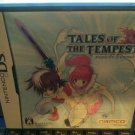Tales of the Tempest (Nintendo DS, 2006) Complete With Manual Japan Import CIB
