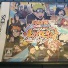 Naruto Shippuden: Shinobi Rumble (Nintendo DS, 2011) With Manual Japan Import