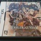 Emblem of Gundam (Nintendo DS, 2008) Complete With Manual Japan Import CIB