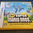 New Super Mario Bros. (Nintendo DS, 2006) Complete With Manual Japan Import CIB