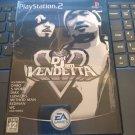 Def Jam Vendetta (Sony PlayStation 2, 2003) W/Manual JAPAN IMPORT READ PS2