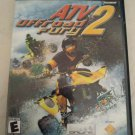 ATV Offroad Fury 2 (Sony PlayStation 2, 2002) Complete W/ Manual Tested PS2