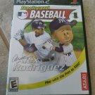 Backyard Baseball Alex Rodriguez (Sony PlayStation 2, 2004) W/Manual PS2 Tested