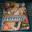 Backyard Wrestling: Don't Try This at Home (Sony PlayStation 2) NTSC-J Japan Import PS2 READ