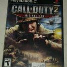 Call of Duty 2: Big Red One (PlayStation 2 2005) Compete With Manual CIB PS2