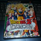 Dragon Ball Z: Infinite World (Sony PlayStation 2, 2008)  NTSC-J Japan Import PS2 READ