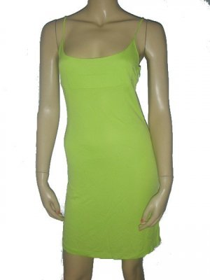 $425 NEW Authentic Green Dolce & Gabbana D&G Mini Dress S Small 40