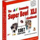 FOOTBALL RECIPE COOKBOOK Game Day SUPER BOWL ebook 2007 edition
