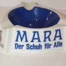 Kangaroo Ashtray MARA Der Schuh fur Alle German white blue dish