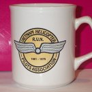 VIETNAM HELICOPTER PILOTS ASSOCIATION mug R.V.N. coffee tea USA military 1961-1975