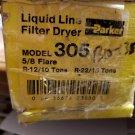 Parker Liquid Line Filter Dryer Model 305 5/8 Flaire (Corner TMRB)