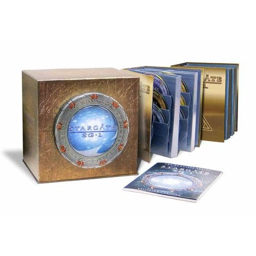 Brand New Stargate SG1 Complete Series Season 1 - 10 Edition DVD Collector's BOX SET 027616092472