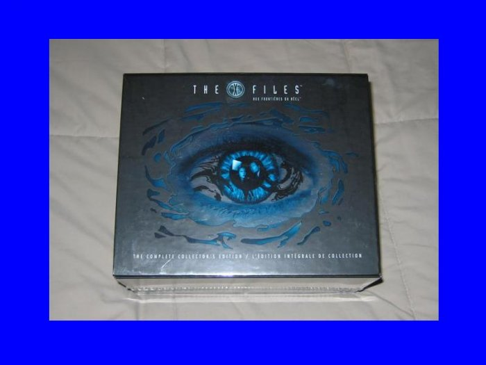 New XFILES X-Files Complete Series Season 1 - 9 Edition DVD Collector's BOX SET 2 3 4 5 6 7 8