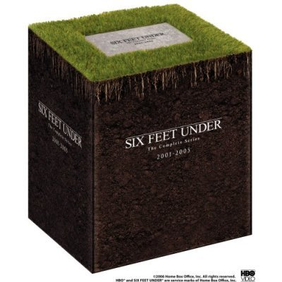 NEW Six Feet Under The Complete Series Gift Box Set Collector's Edition DVD