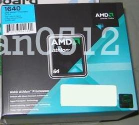 NEW AMD ATHLON 64 LE-1640 2.6Ghz CPU Processor SOCKET AM2 Fan Heatsink