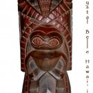 Hawaiian God Kanaloa Carved Tiki Wood Statue/Figure 14""