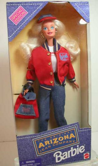 1995 Special Edition ARIZONA JEAN COMPANY Barbie Doll NRFB