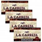 Cafe La Carreta Ground Coffee Premium Expresso Blend (10 oz x Brick) 4 Bricks