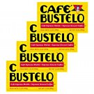 Cafe Bustelo Ground Coffee Dark Roast 10 oz Brick 4 Bricks