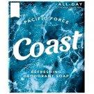 Coast Soap Bar Classic Scent Refreshing Deodorant 3.2oz Bar 12 Bars