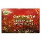 Go Tea Milk Thistle Liver & Kidney Upgrade Herbal Tea (12 Bags x Box) 2 Boxes