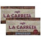 Cafe La Carreta Ground Coffee Premium Expresso Blend (10 oz x Brick) 2 Bricks.