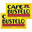 Cafe Bustelo Ground Coffee Dark Roast 10 oz Brick 2 Bricks