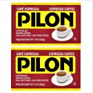 Cafe Pilon Espresso Coffee (10 oz x Brick) 2 Bricks