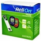ReliOn Prime Blood Glucose Test Strips 100 Strips