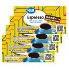 Great Value Espresso Ground Coffee Dark Rich & Smooth 10 Oz Brick 4 Bricks