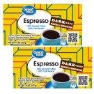 Great Value Espresso Ground Coffee Dark Rich & Smooth 10 Oz Brick 2 Bricks