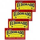 Eldorado Espresso Coffee Rich Full Legendary 9 Oz Brick 4 Bricks