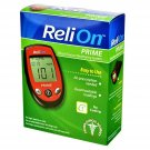 ReliOn Prime Blood Glucose Monitoring System (Red)