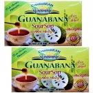 Caribbean Sunshine Soursop W/ Honey Tea--Guanabana C/ Miel (20 Bags Box) 2 Boxes