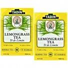 Tadin Lemongrass Tea Herbal/Tisana 24 bags Box 2 Boxes
