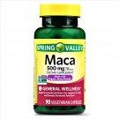 Spring Valley Maca General Wellness Capsules 500 mg 90 Capsules