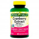 Spring Valley Cranberry Extract Vegetarian Urinary Track Health 500mg 60 Caps