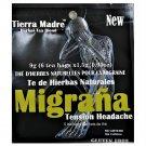 Tierra Madre Herbal Tea Blend Migrana Tension Headache  18 Tea Bags