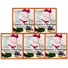 Tierra Madre Flaxseed With Moringa / Lizana + Moringa Slim Tea 5 Bags Pack 5 Pack