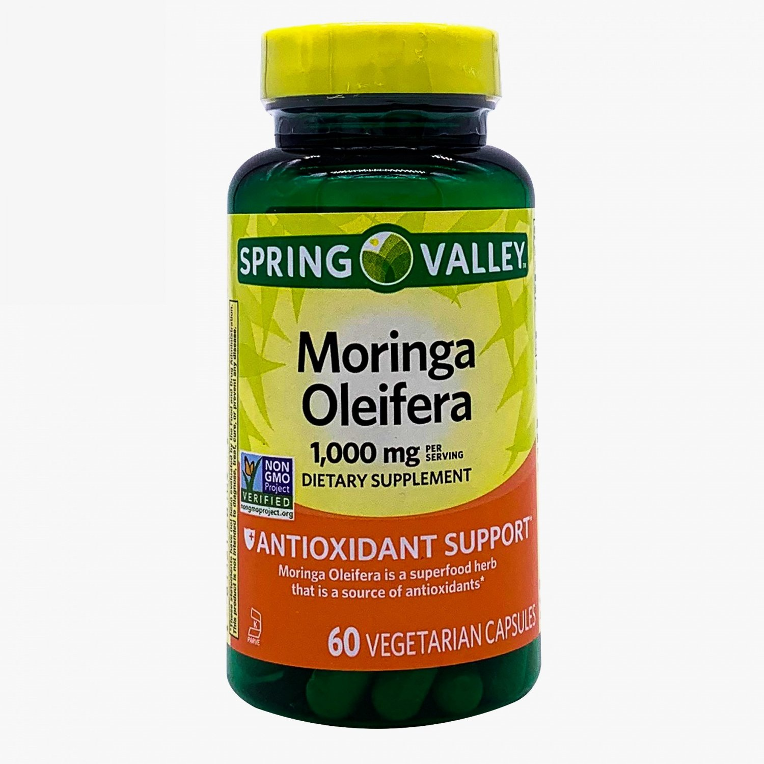 Spring Valley Moringa Oleifera Antioxidant Support 1,000 mg 60 Vegetarian Capsules