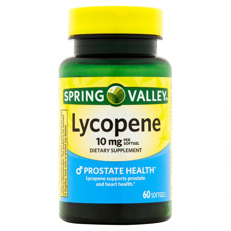 Spring Valley Prostate Health Lycopene 60 Softgels