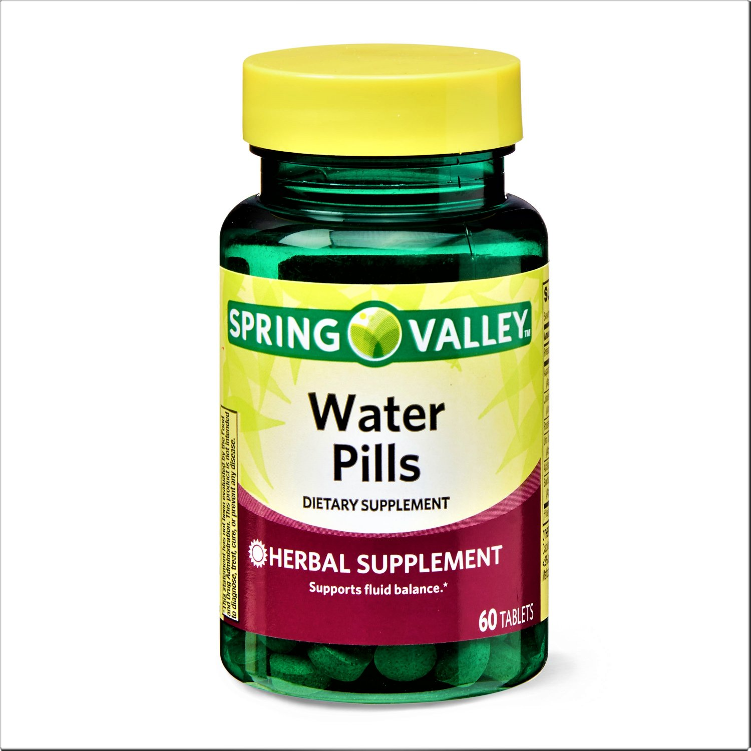 Spring Valley Water Pills Fluid Balance Support 60 Tablets