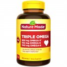 Nature Made Triple Omega 3-6-9 Heart Health Dietary Supplement 74 Softgels