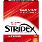 Stridex Medicated Acne Pads Maximum Strength 90 Pads
