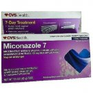 CVS Miconazole 7 Nitrate Vaginal Cream USP 2% 7 Disposable Applicators