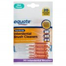 Equate Interdental Brush Cleaners for Standard Width Spaces 20 Count