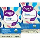 Organic Sleep Tea Bags Chamomile-Valerian-Passionflower (16 Bags Box) 2 Boxes