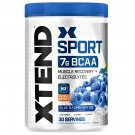 XTEND Original 7g BCAA Powder Muscle Recovery + Electrolytes Blue Raspberry Ice 30 Servings